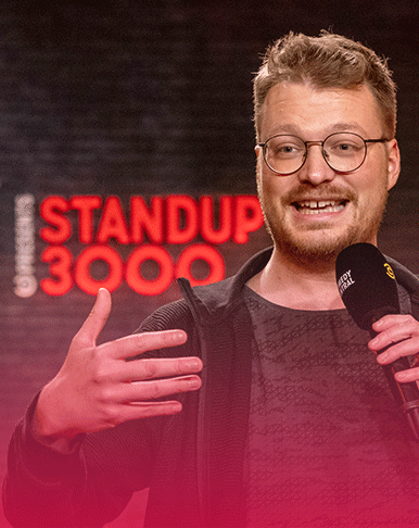 COMEDY CENTRAL: STANDUP 3000 <br> MIT NEUER STAFFEL