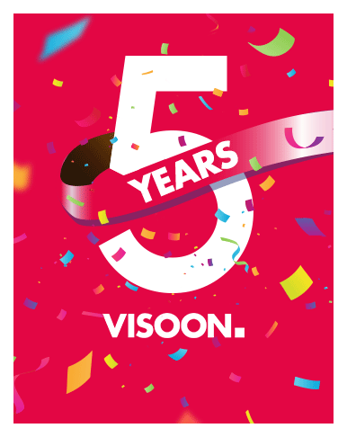 5 Jahre VISOON * Happy B-Day 🥳*