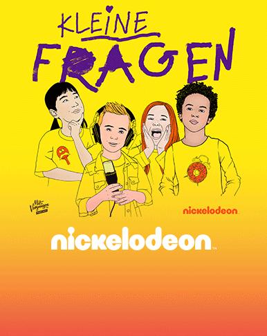 """NEUER NICKELODEON PODCAST """"KLEINE FRAGEN"""""""